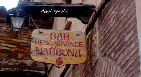 Voyage Espagne : Alquezar.