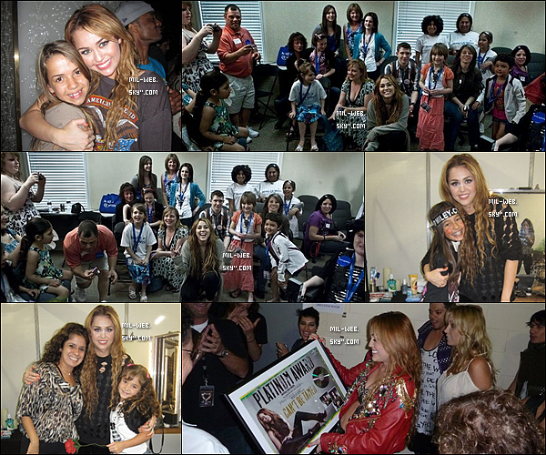 Gypsy Heart Tour : Voici des photos de Miley du Gypy Heart Tour dans les backstages. J'aime beaucoup les photos.