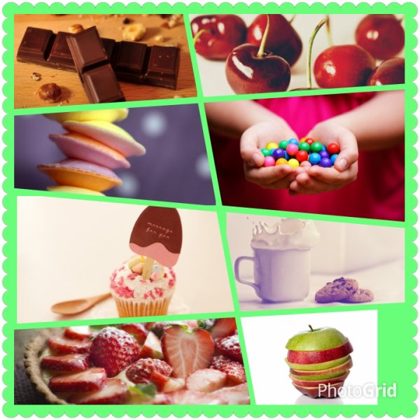 Montage Photo 2: Love Food!