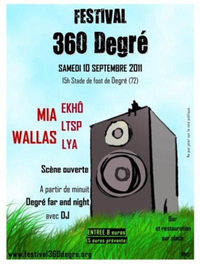 FESTIVAL 360 DEGRE 2011