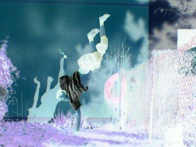 Moi en mode break-dance