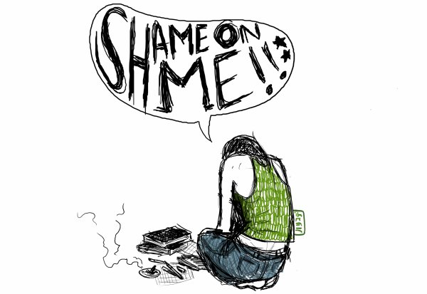"""Shame ... it's my name."""