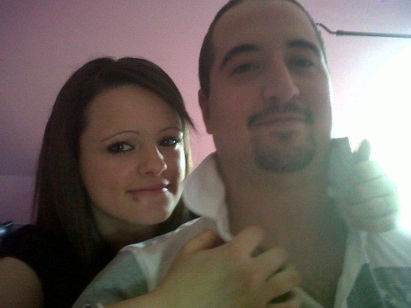 """Mon homme ma vie mon souffle 1 ans et 2 mois de bonheur et d""""amour 17 Septembre 2010"""