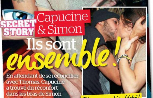 Simon et Capucine en couple