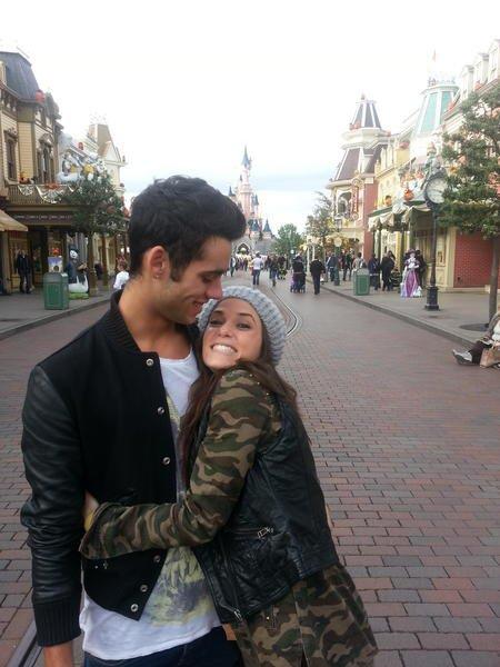 Simon et Capucine à Disneyland Paris