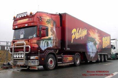 scania philippe et chantal beau les camions d233cor233s
