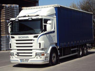 scania r 420 porteur du patron a mon pere les camions. Black Bedroom Furniture Sets. Home Design Ideas
