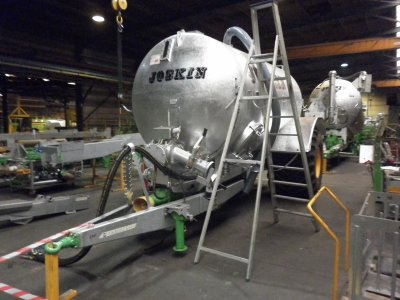 Visite de l'usine Joskin