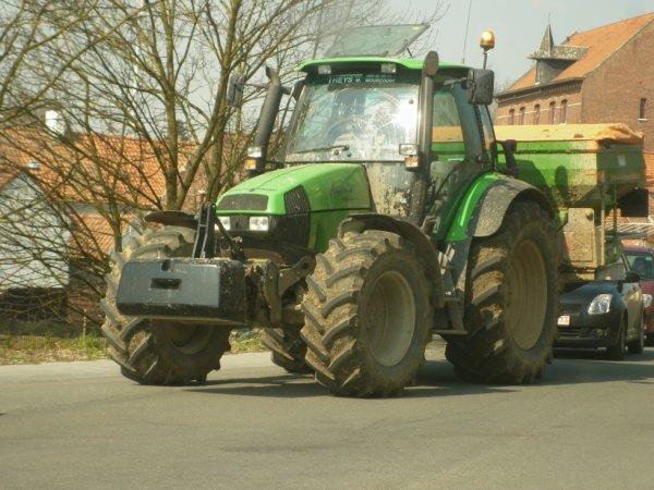 Sur les routes: Deutz Agrotron 165 MK3