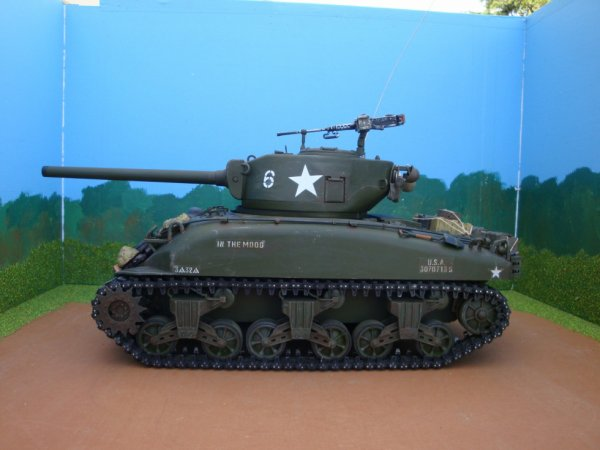 SHERMAN au 1/16 RC
