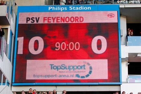 Le PSV Eindhoven écrase Feyenoord !