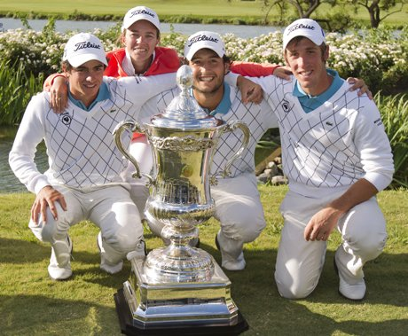 Champion du monde de... golf !
