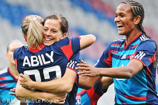 Ligue des champions féminine : Lyon et Juvisy assurent !