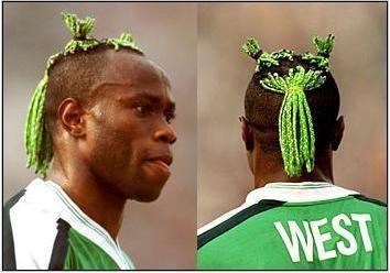 La Coupe du monde des coiffures de footballeurs