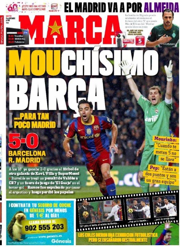 Barcelone-Real Madrid : la revue de presse