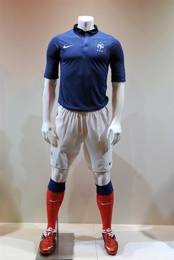 Le nouveau maillot de l'équipe de France de football