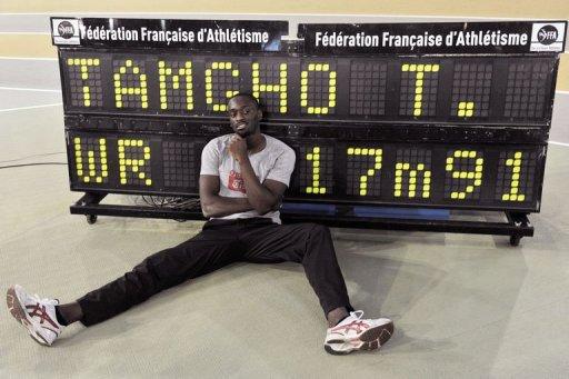 Athlétisme : Teddy Tamgho s'offre le record du monde