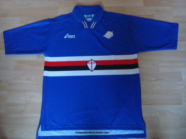 Le maillot de la Sampdoria