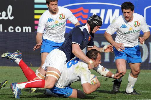 Tournoi des 6 nations : l'Italie bat la France