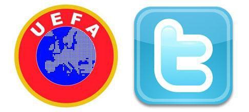 L'UEFA découvre twitter !