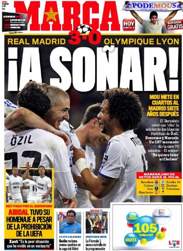Ligue des champions : Lyon explose à Madrid