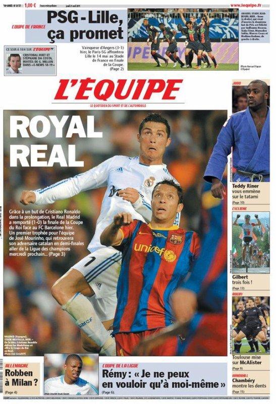 Copa del Rey : le Real Madrid bat enfin Barcelone
