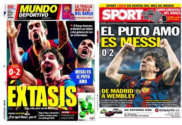 Ligue des champions : Manchester et Barcelone en finale