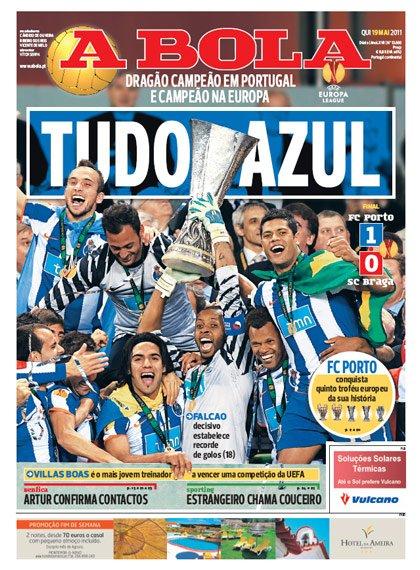 Ligue Europa : Porto s'offre une nouvelle coupe