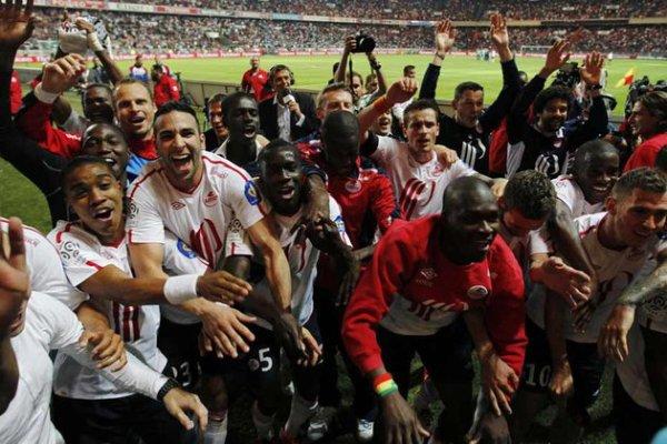 Ligue 1 : le LOSC champion