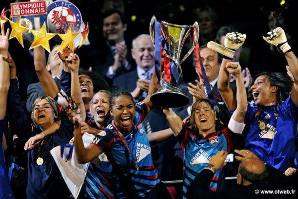 Ligue des champions : les lyonnaises sur le toit de l'Europe