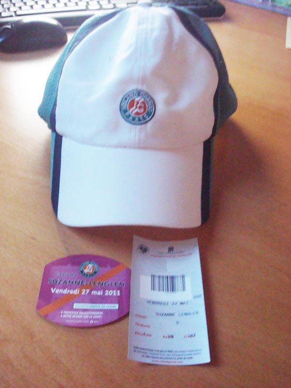 Deux heures à Roland-Garros