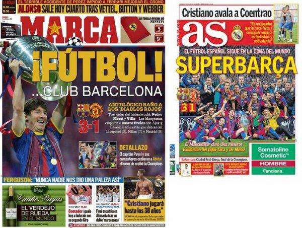 Ligue des champions : Barcelone en toute logique