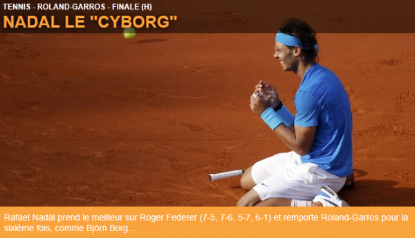 Roland Garros : Nadal rejoint Borg