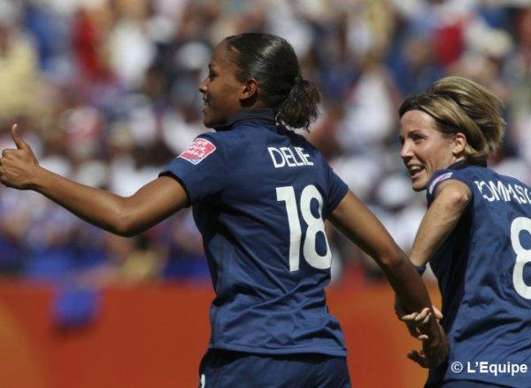 Coupe du monde féminine : la France bat le Nigeria
