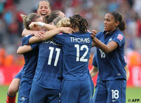 Coupe du monde féminine : HISTORIQUE !!! Les Bleues en demi-finale et aux JO !!!