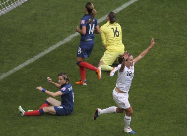 Coupe du monde féminine : les Bleues s'inclinent :(
