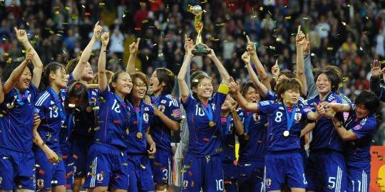 Coupe du monde féminine : les Japonaises championnes du monde !