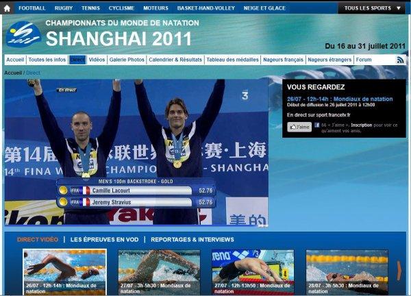 Championnat du monde de natation : doublé historique !