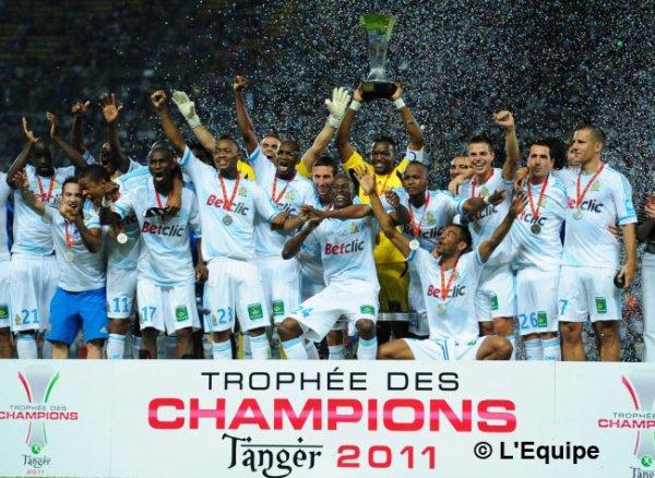 Trophée des champions : Marseille renverse Lille