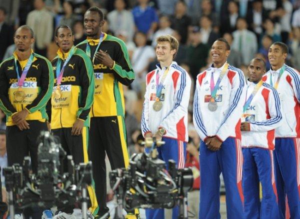 relais 4x100 m : la France en argent !