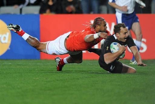 Coupe du monde de rugby : la Nouvelle-Zélande bat les Tonga 41-10
