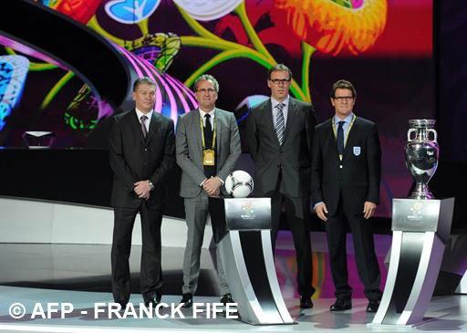 Euro 2012 : le tirage au sort