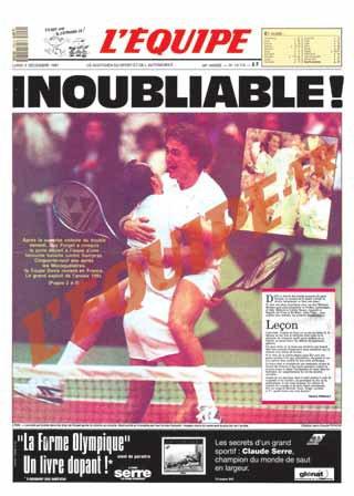 Coupe Davis 1991 : 20 ans !