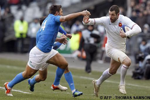 Tournoi des 6 nations : la France bat l'Italie 30-12
