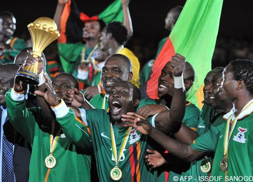 La Zambie remporte la CAN 2012