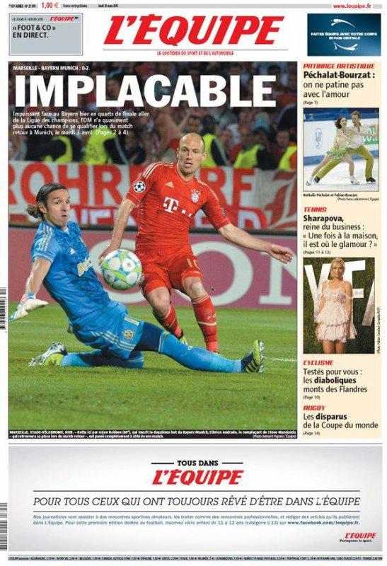 Ligue des Champions : l'OM chute à domicile...