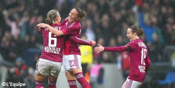 Ligue des Champions féminine : Lyon cartonne
