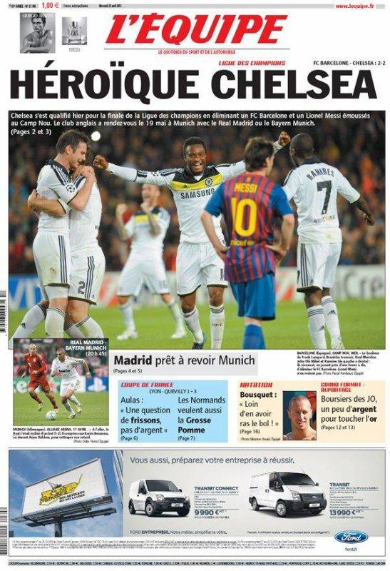 Ligue des Champions : l'exploit de Chelsea