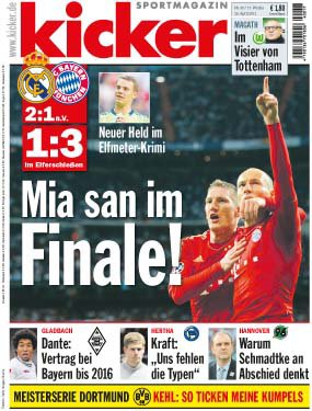 Ligue des Champions : Le Bayern sort le Real Madrid !