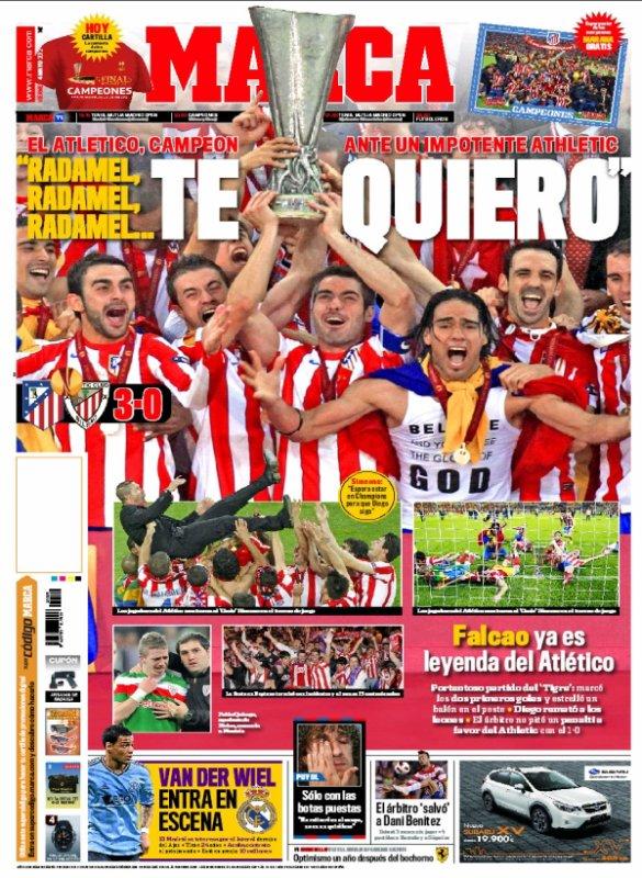 Ligue Europa : l'Atlético Madrid dérouille l'Athletic Bilbao